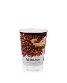 12oz Double Wall Hot Cup - Custom Design