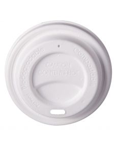 90mm White Pulp Paper Lid