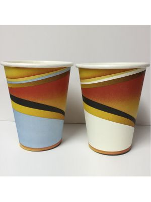 12oz Single Wall Hot Cup - White