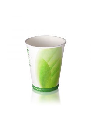 8oz Single Wall Hot Cup - White