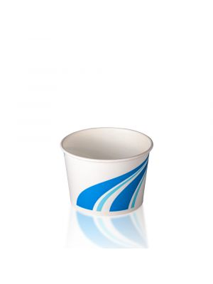 4oz Ice Cream Cup - Classic Blue