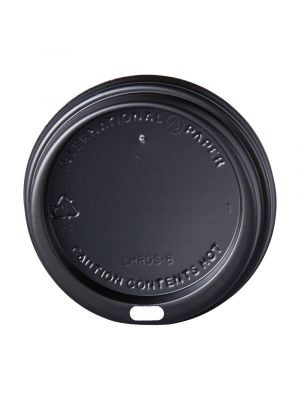 80mm Dome Lid - Black