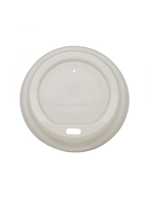 80mm Dome PLA Lid - White