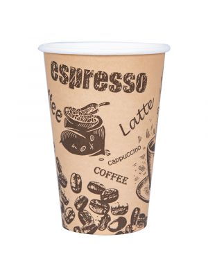 73mm 8oz Single Wall Hot Cup - Vending Cup