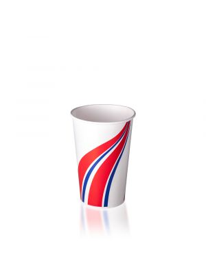 16oz Cold Cup - Swirl Red & Blue
