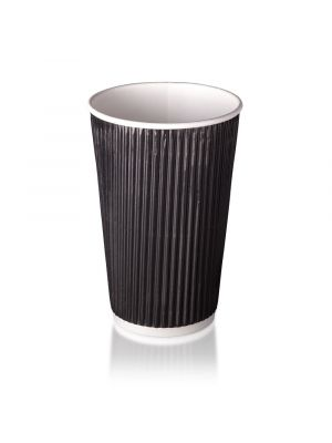 16oz Double Wall Hot Cup - Matt Black