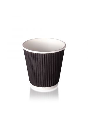 8oz Double Wall Hot Cup - Matt Black