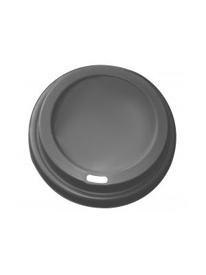 62mm Dome Lid - Black