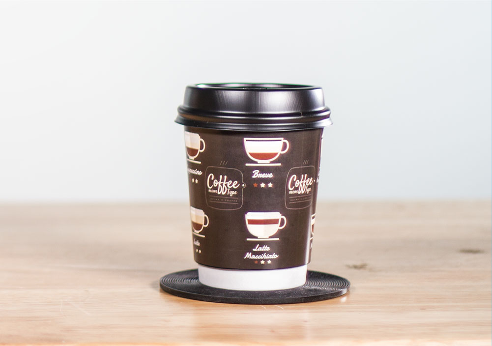 Custom Designed Paper Cups